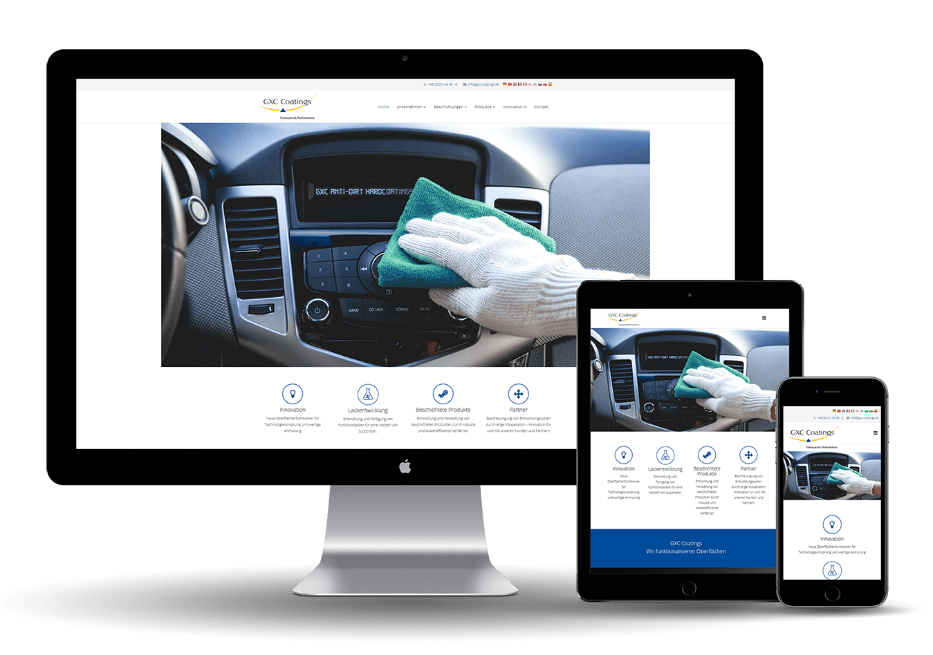 Online Marketing United - GXC Coatings