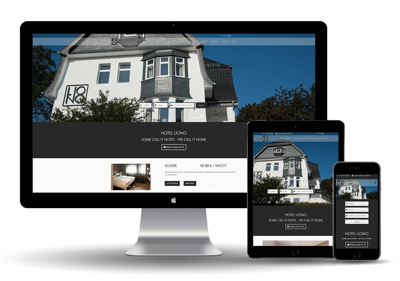 Online Marketing United - Hotel Liono