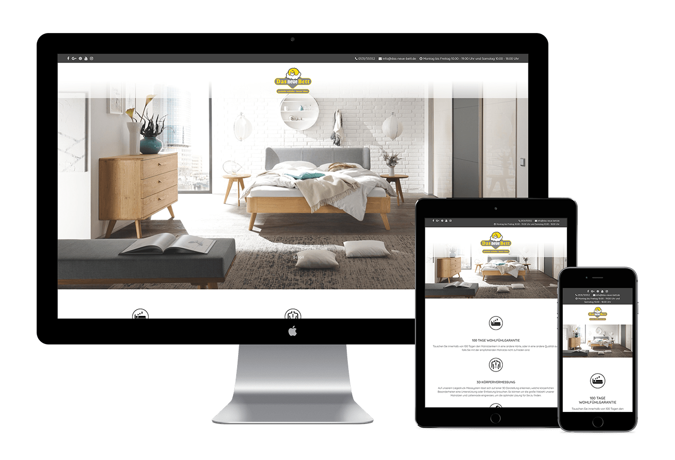 Online Marketing United - Das neue Bett
